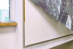 Framefoto Schoonhoven impressie textielframe geluidsabsorptie panelen Hoogheemraadschap Rotterdam 2
