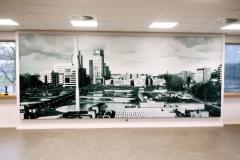 Framefoto Schoonhoven impressie textielframe geluidsabsorptie panelen Hoogheemraadschap Rotterdam 3